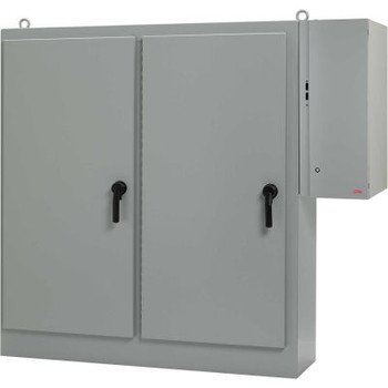 Hoffman A72XD2818FTCLP, Sequestr-External Disc. Pkg, 1 Door, W/O Panel, 72.12X28.25X18.12