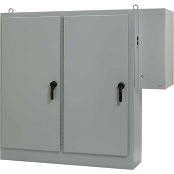 Hoffman A90XD4020FTCLP, Sequestr-External Disc. Pkg, 1 Door, W/O Panel, 90.12X40.25X20.12