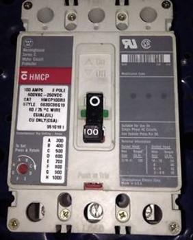 HMCP100R3 Cutler Hammer Breaker 100 AMP, 600 VOLT, 3-POLE