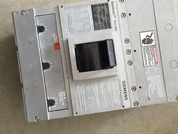 Siemens hld63f600 Sentron 600A 600 Amp 3 Pole Hld6-a Circuit Breaker