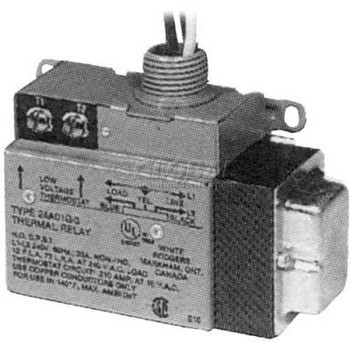 TPI Low Voltage Relay Single Switch Throw With Built-In Transformer 240V 2A01G3