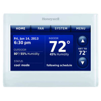 Honeywell Prestige Color Touchscreen Thermostat With Redlink-THX9421R5021WW White