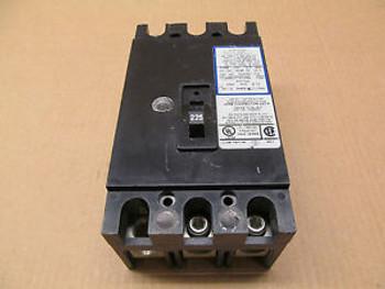 1 CUTLER HAMMER CHH3225 CHH3225H2 225 AMP 3 POLE 240 VAC CIRCUIT BREAKER