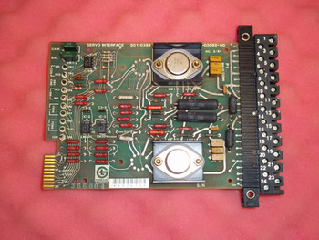 Giddings & Lewis  Servo Interface Board  501-03882-00 / 502-03092-00