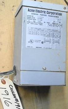 0.750 KVA ACME Transformer T-2-53009 120x240 to 12x24