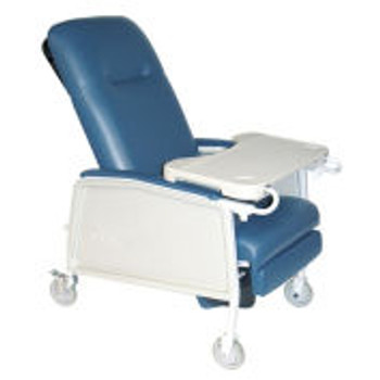 3 Position Geri Chair Recliner, Blue Ridge
