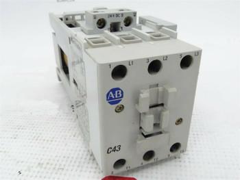 Allen-Bradley 100-C43D*00 Ser. A Contactor w/ 100-S Ser. B Contact Block