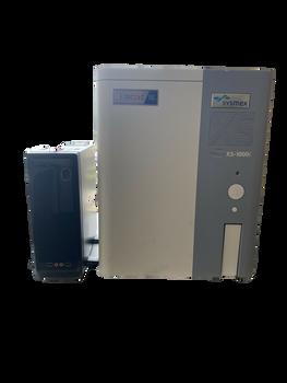 SYSMEX XS-1000i AUTOMATED HEMATOLOGY/ HAEMATOLOGY ANALYZER w XS-1000i RL