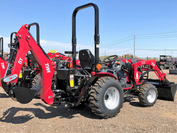 2020 TYM Tractors T25HST-TLB 25HP 4x4 Tractor Loader Backhoe