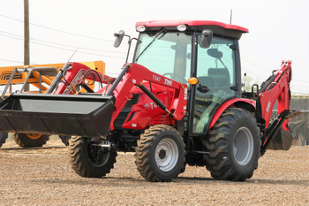 2020 TYM Tractors T47HSTC-TLB CAB Tractor Loader Backhoe 48HP 4x4 HYSTAT