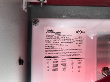 2232 MP Benshaw Starter Unit