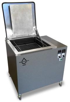 New 25 Gallon Omegasonics Heated Ultrasonic Cleaner