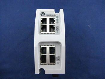 Used Allen Bradley 1783-Ems08T /B Pkg 2014 Stratix 6000 Managed Switch Qty