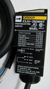 Omron E3ju-25dm4-mn Photoelectric Switch