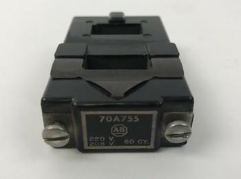 Allen Bradley 70A755 Coil 220 V 60 CY 208 V 60 CY USED