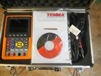 Tenma 72-8474 Portable Oscilloscope + Multimeter Combo W/Case + Accessories