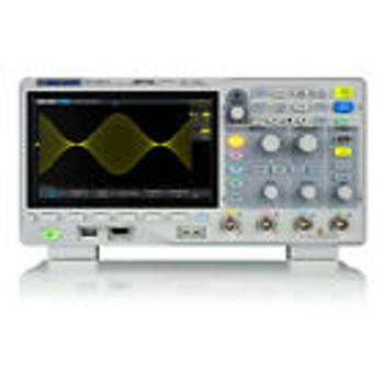 Siglent Sds1204X-E Oszilloskop (4 Kan¤Le, 1 Gs/S, 200 Mhz)