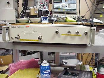 Agilent Hp 87511B S-Parameter Test Set 100 Khz-500 Mhz 75 Ohm Tested