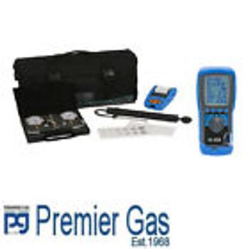 Kane 458 Boiler Flue Gas Analyser Kit / New Style