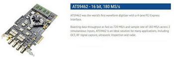 Alazar Ats9462 2 Channel Dac 180 Mhz, Sdk Examples, Digital Oscilloscope Feature