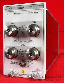 Hp-Agilent-Keysight 83496-100 Clock Recovery Optical Module Us44500345