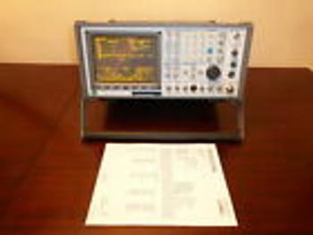 Ifr Aeroflex Com-120B Am/Fm Communications Service Monitor - Loaded & Calibrated