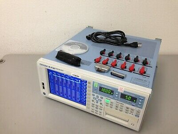 Yokogawa Wt1800 Power Analyzer