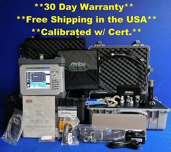 Anritsu Mw82119B-260 Pim Master Analzyer Lte 2600 Mhz W Accessory Kit