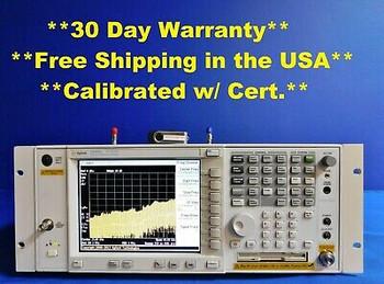 Agilent E4448A Psa Spectrum Analyzer 50 Ghz 110 111 115 123 124 219 226 B7J H70