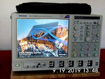 Tektronix Dsa72504D O'Scope - 25 Ghz,100Gs/S; Loaded, Cal'Ed W/Data Rent Me
