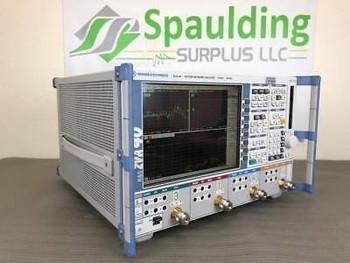 Rohde & Schwarz Zva40 10Mhz To 40Ghz Vector Network Analyzer W/ Mfg Calibration