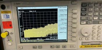 Agilent E4448A 3Hz To 50Ghz Spectrum Analyzer, Calibrated W/ Data(Opt. 111, 115)