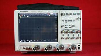 Agilent Keysight Dso-X 92504A 25 Ghz, 4 Channel High-Performance Oscilloscope