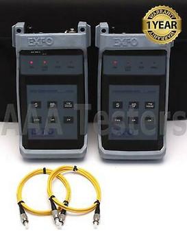 Exfo Vcs-20A Sm Multifuction Fiber Optic Talk Set Vcs-20A-03Bl Vcs-20A-02B Vcs20