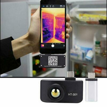 Ht-301 Mobile Phone Thermal Imaging Camera Support Video & Pictures Recording