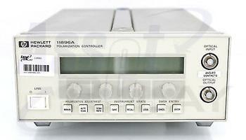 Hp Agilent 11896A Polarization Controller Option C81 Calibration Included