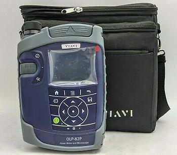 Viavi Olp-82P Power Meter And Microscope + Accessories (See Description) -Nr4248