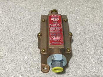 Kidde-Fenwal 3P Pressure Operated Explosion Proof Switch 981332 NEW