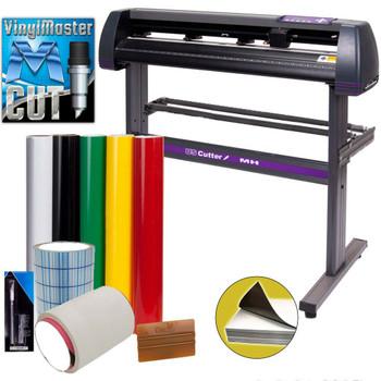 """34"""" USCutter MH 871 Vinyl Cutter Value Kit w/ VinylMaster Design & Cut Software"""