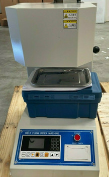 110V Melt Flow Rate Index Tester Machine with Printer & LCD Screen 50HZ