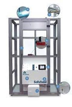 Safefume 360 Automatic Cyanoacrylate Fuming Chambers