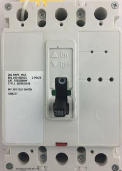 Eaton FDB3200KW Molded Case Switch Eaton 6629C85G10