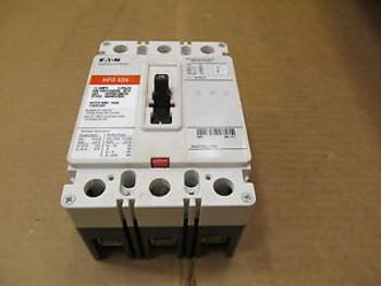 1 CUTLER HAMMER HFD HFD3015BP10 15 AMP 3 POLE 600 VAC CIRCUIT BREAKER