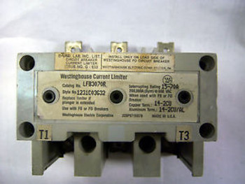 (0430) 1 WESTINGHOUSE LFB3070R CURRENT LIMITER 600