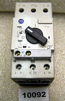 (10092) Allen Bradley 140M-F8T-C25 Motor Protection Circuit Breaker