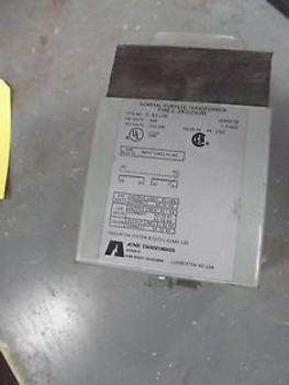 ACME 1.0KVA Transformer T-53106  Single Phase HV600-LV 120/240