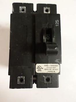 (1) AIRPAX LELPK11-1REC4R-33086-125-V LELPK111REC4R33086125V 1 POLE 125 AMP