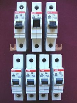 (7) ABB S271 CIRCUIT BREAKERS - USED