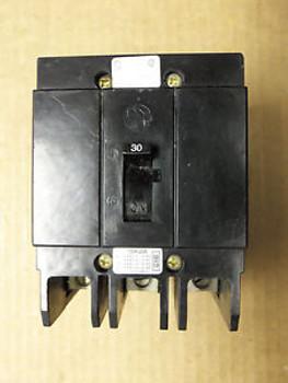 Cutler Hammer GHB GHB3030 3 Pole 30 amp  Circuit Breaker