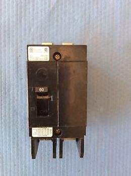 Cutler Hammer GHB2060 2 Pole 60 Amp Circuit Breaker